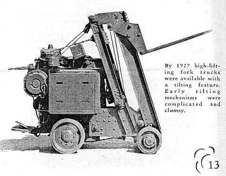 forklift history,history of lift truck