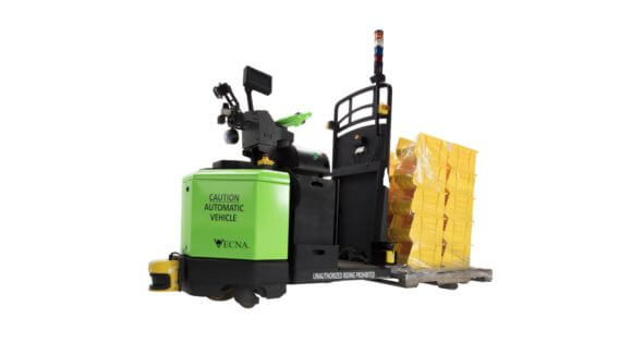 autonomous pallet transporter,Vecna Robotics