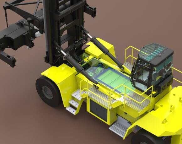 Hyster fuel cell zero emission