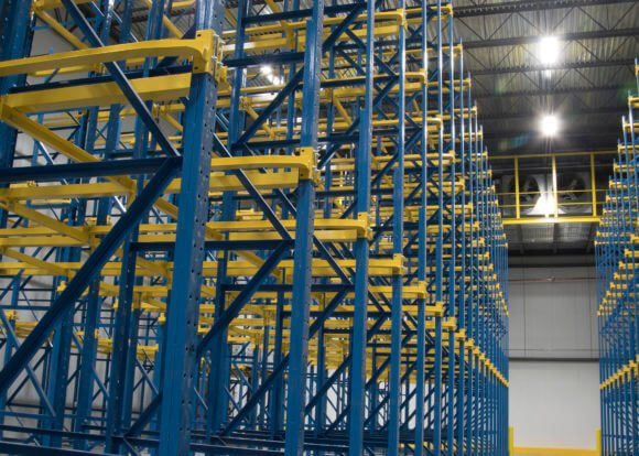 Drive in racking, Steel King