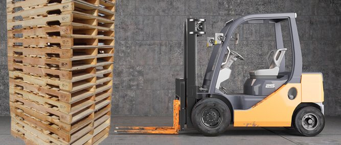 forklift technologies, new or used, lease or buy