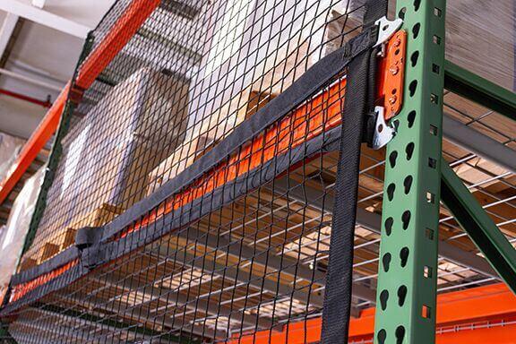 Adrian pallet rack netting
