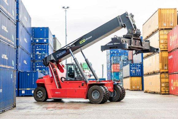 Kalmar Eco-reach stacker