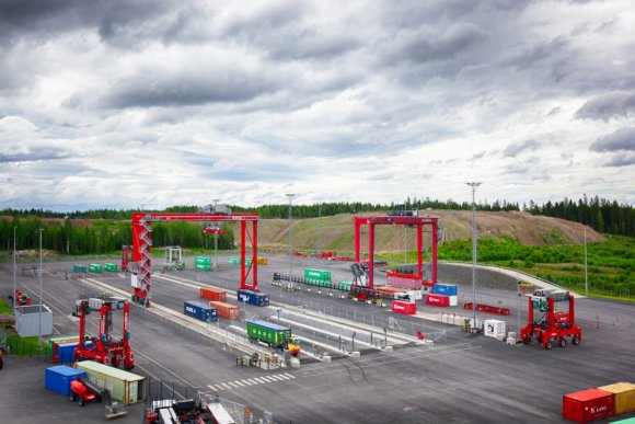 Kalmar digital test yard